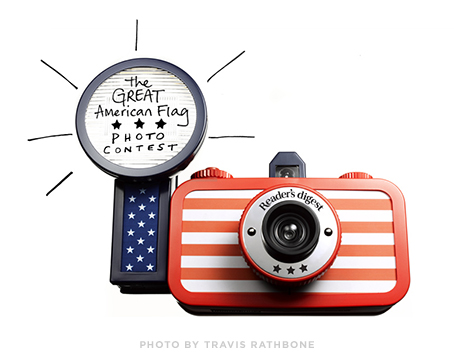 Reader's Digest magazine –  The Great American Flag Photo Contest 2016 - logo