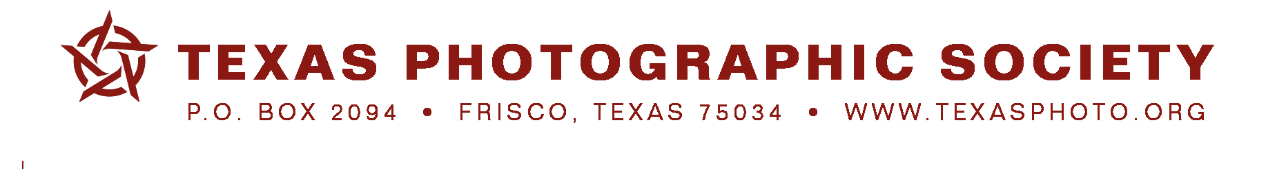 Texas Photographic Society – TPS 25: The International Competition - logo
