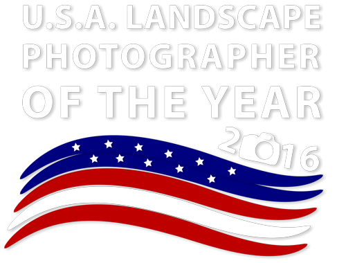 USA Landscape Photographer of the Year 2016 - logo