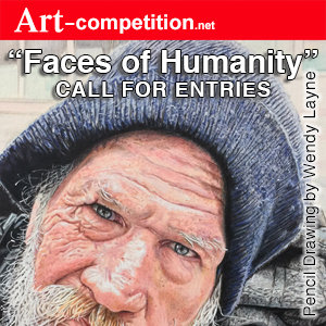 "Call For Entries ""Faces Of Humanity"" - logo"