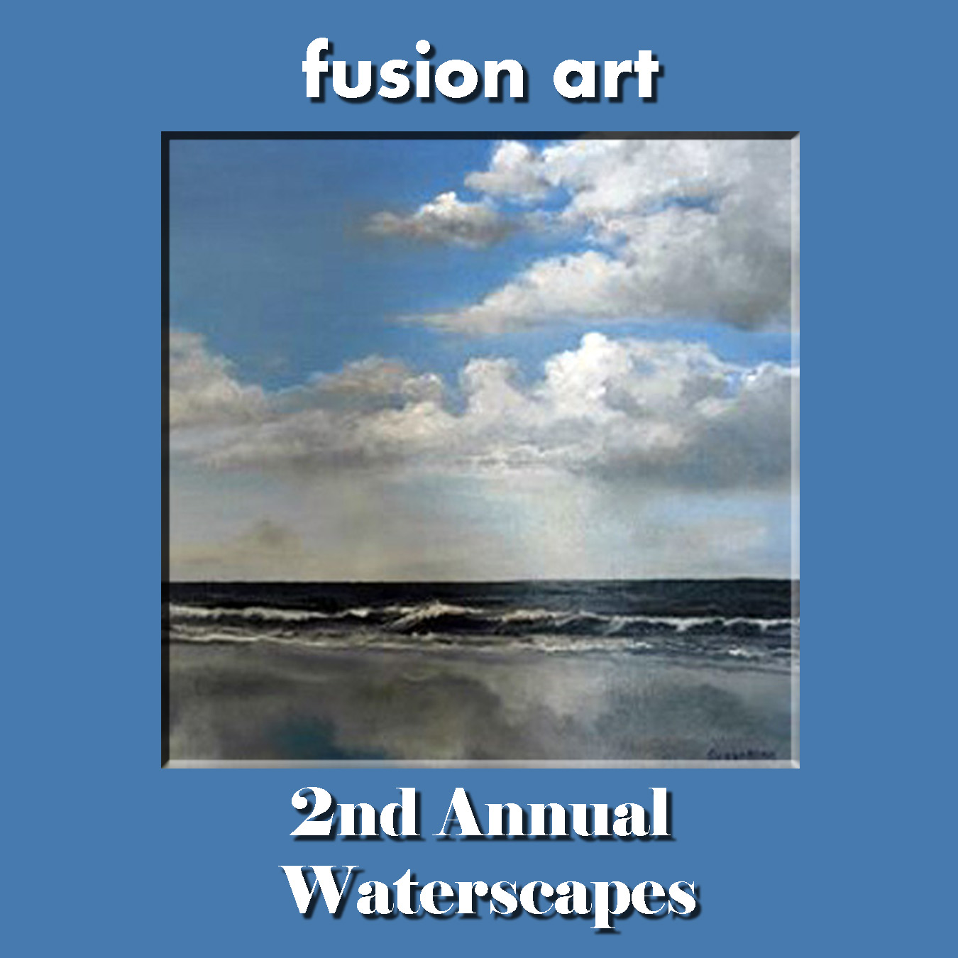 "2nd Annual ""Waterscapes"" International Juried Art/Photography Competition - logo"