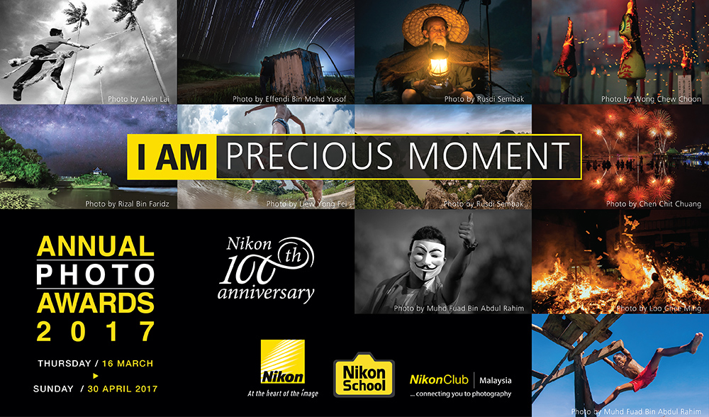 100 Year Anniversary Nikon Annual Photo Awards 2017 - logo