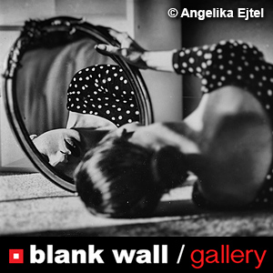 Portraits in B&W by Blank Wall Gallery - logo