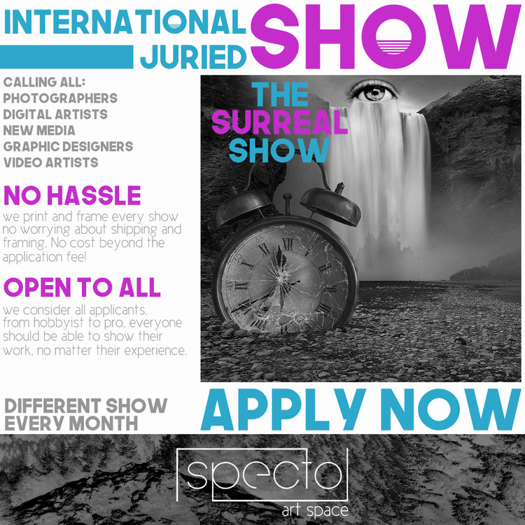 CALL FOR ENTRIES: The Surreal Show - logo