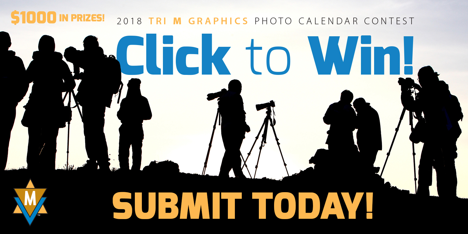 Tri M Graphics 2018 Photo Calendar Contest - logo