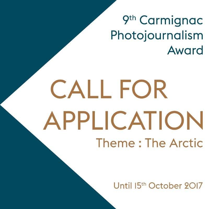 Carmignac Photojournalism Award 2017 - logo