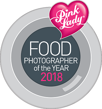 Pink Lady Food Photographer 2018 - logo