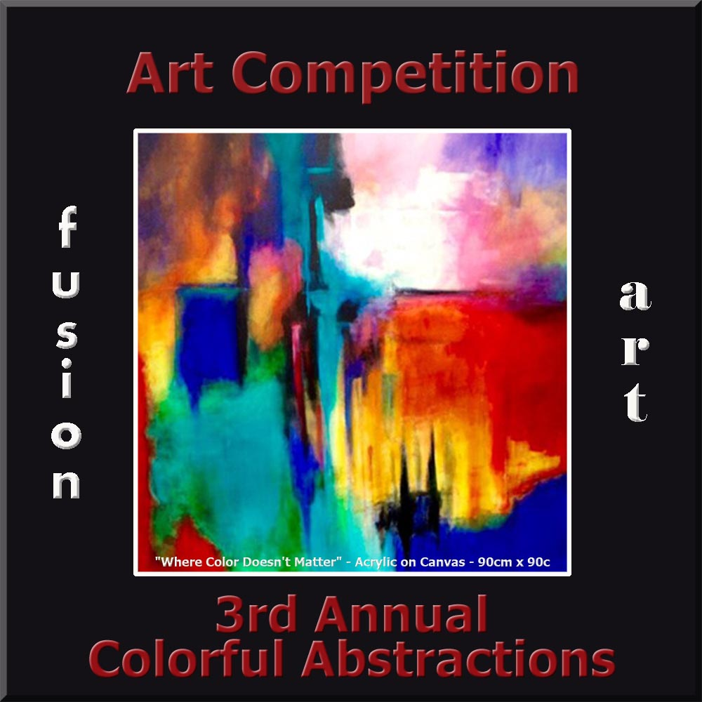 "3rd Annual ""Colorful Abstractions"" International Art/Photo Competition - logo"