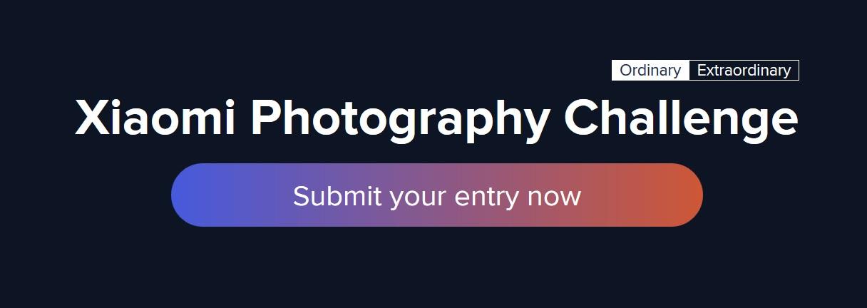 Xiaomi Photography Challenge 2018 - logo