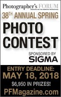 Photographers Forum's 38th Spring Photo Contest - logo