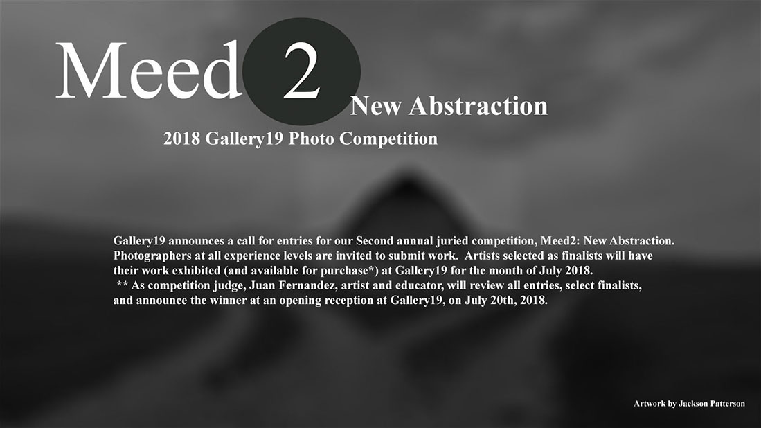 Meed2: Gallery19 Photo Competition - logo