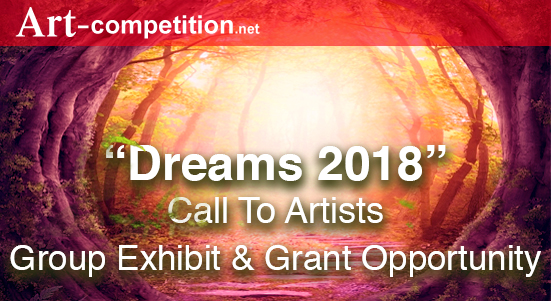 "New Art Call:  ""Dreams 2018,"" an exhibiting and art grant opportunity at Gallery 25N - logo"