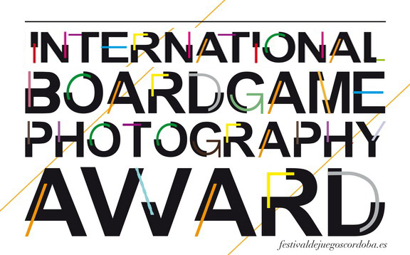 XI INTERNATIONAL Boardgaming Photography AWARD 2018 - logo