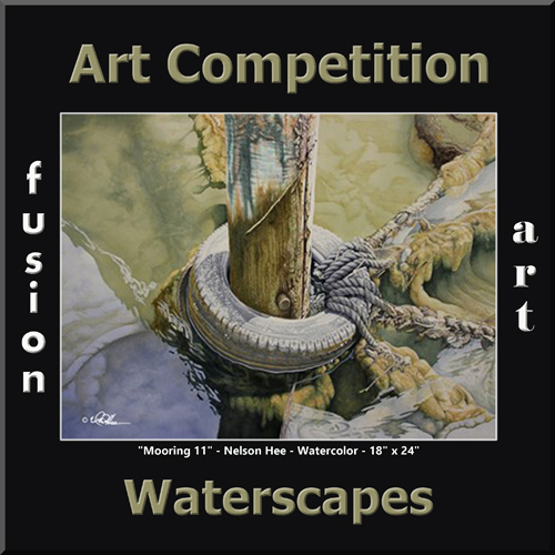 3rd Annual Waterscapes Art Competition - logo