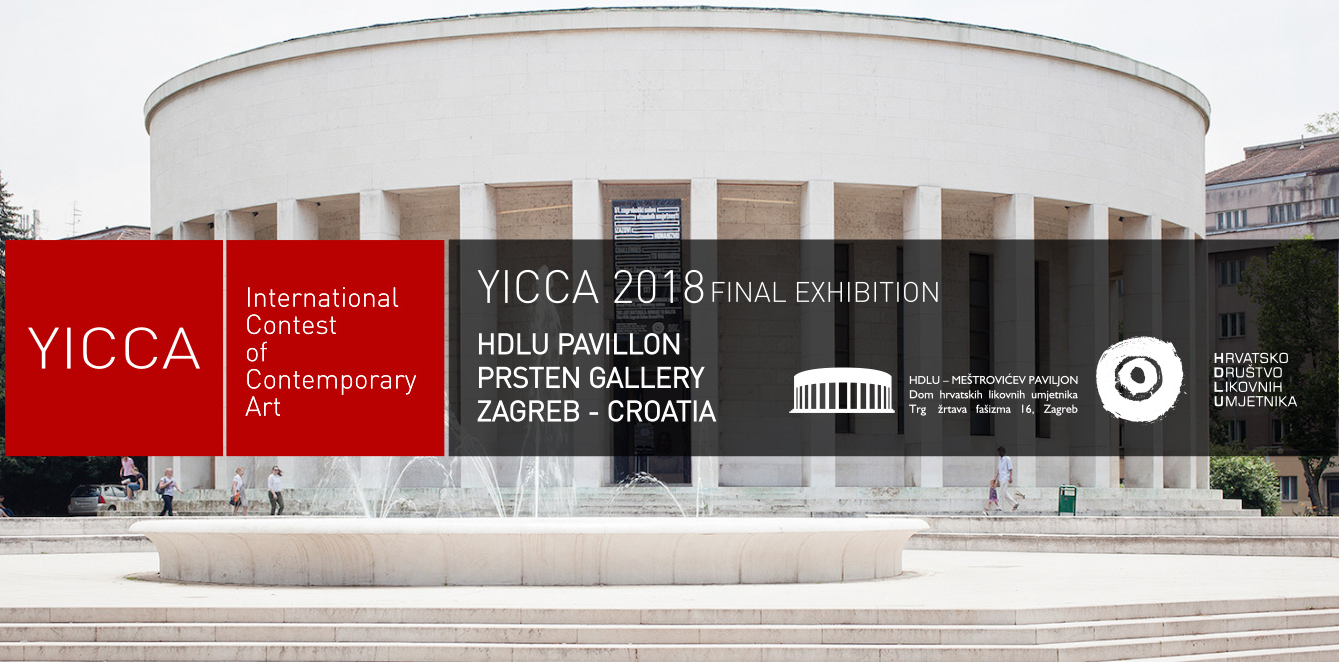 YICCA 2018 – International Contest of Contemporary Art - logo