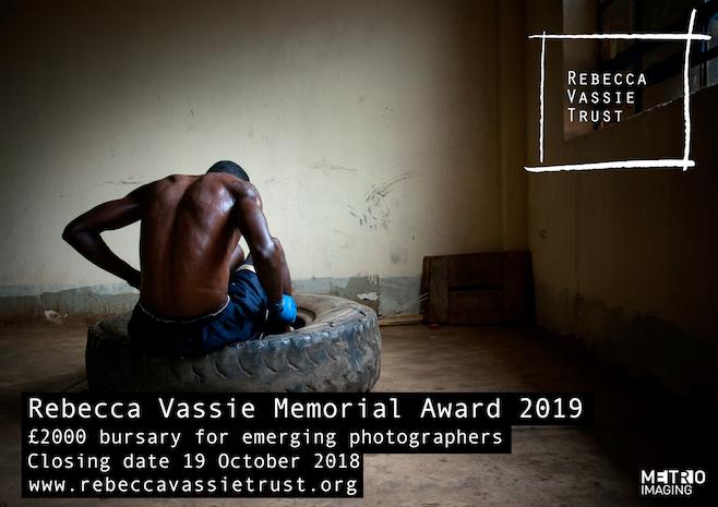 Rebecca Vassie Memorial Award 2018 - logo