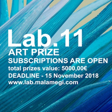 Lab.11 art contest - logo
