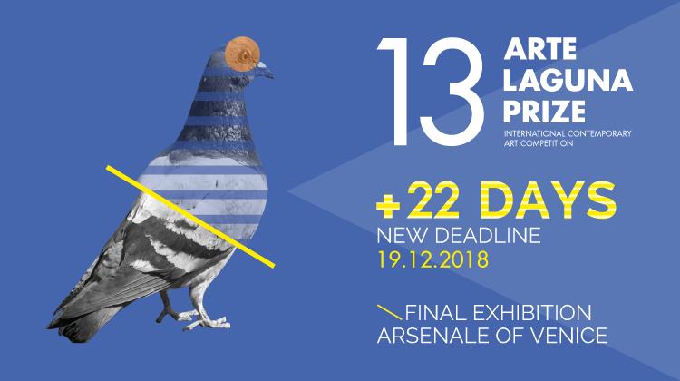 13. Arte Laguna Prize NEW DEADLINE TO APPLY > 19.12.2018 - logo