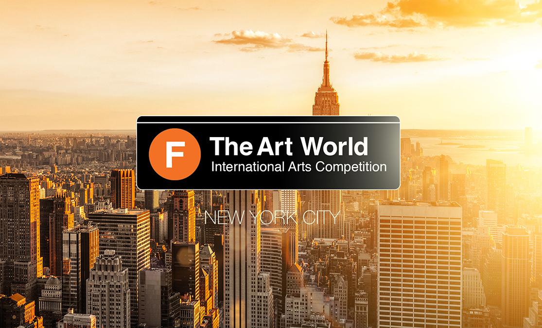 F The Art World –  International Art Competition 2019 - logo