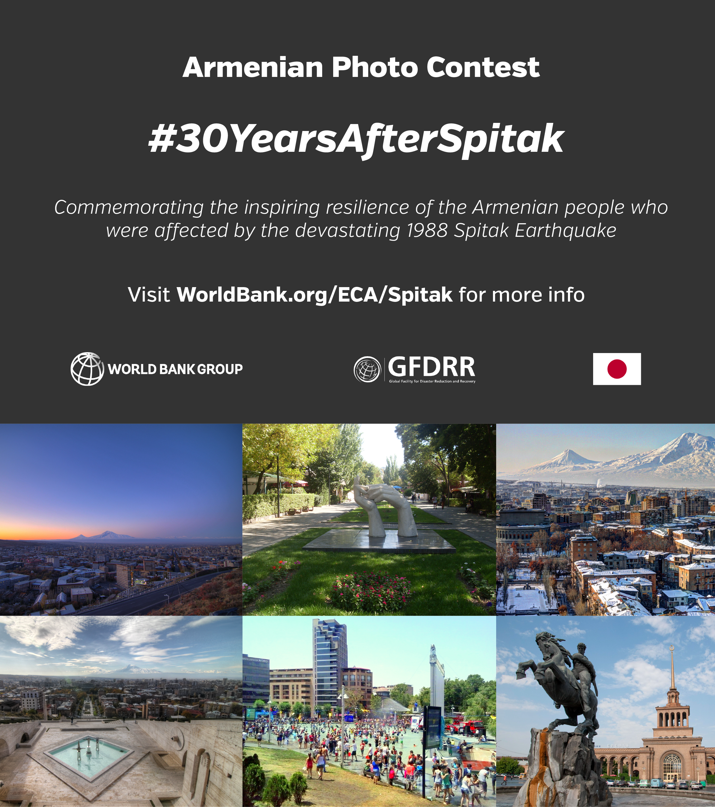 World Bank Armenia Photo Contest: 30 Years After Spitak - logo