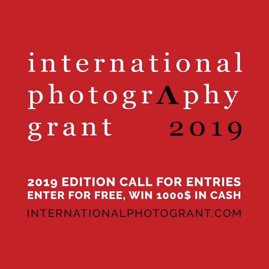 International Photography Grant 2019 - logo