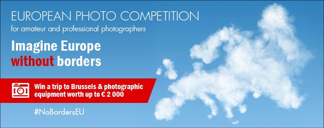 Imagine Europe without borders – Photo competition 2016 - logo