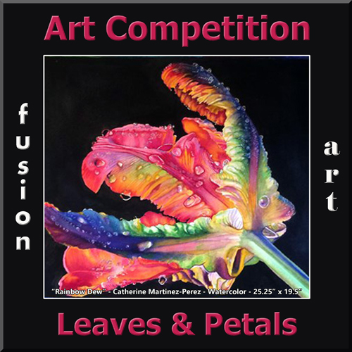 """3rd Annual """"Leaves & Petals"""" Art/Photo Competition - logo"""