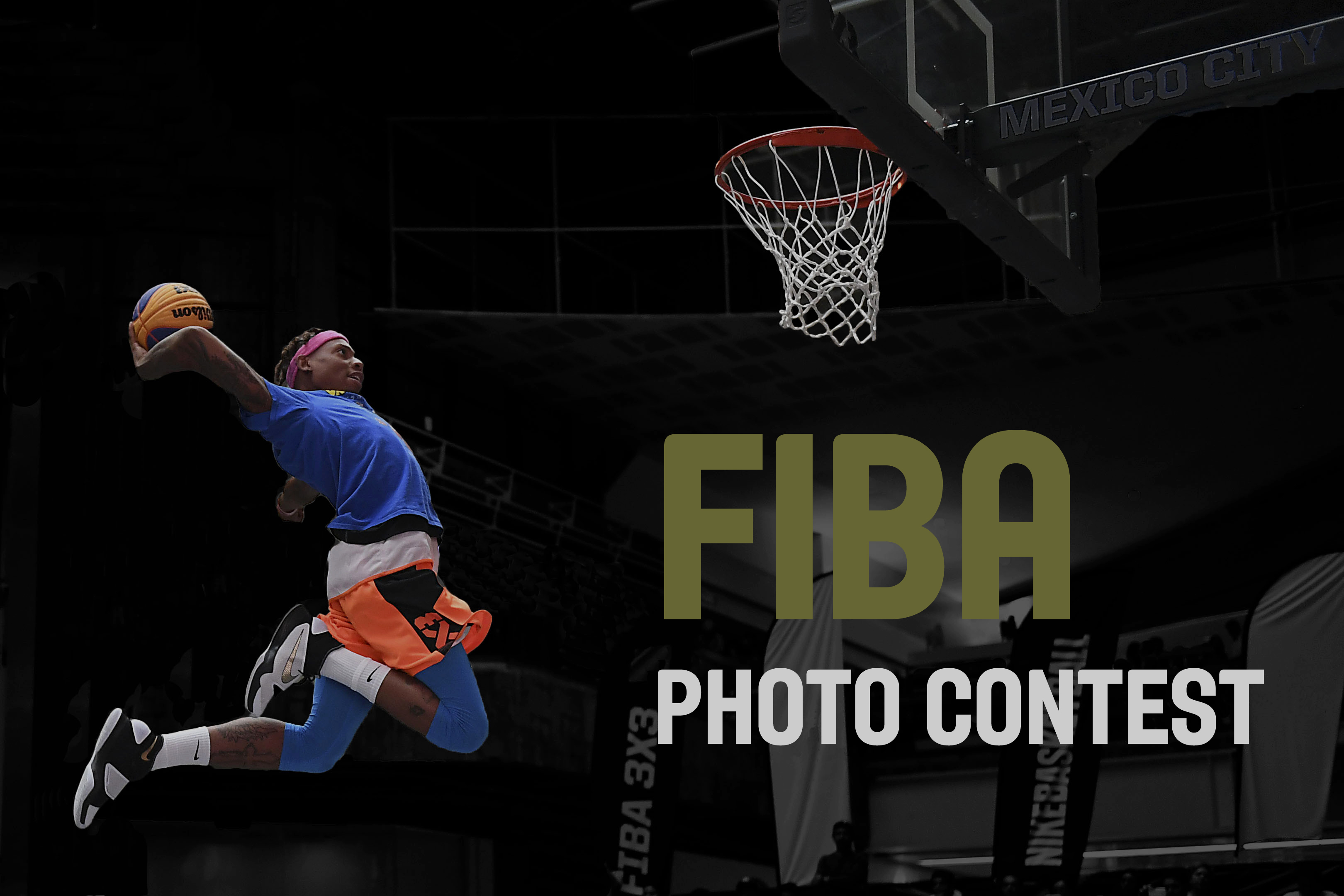 FIBA photo contest 2018 - logo