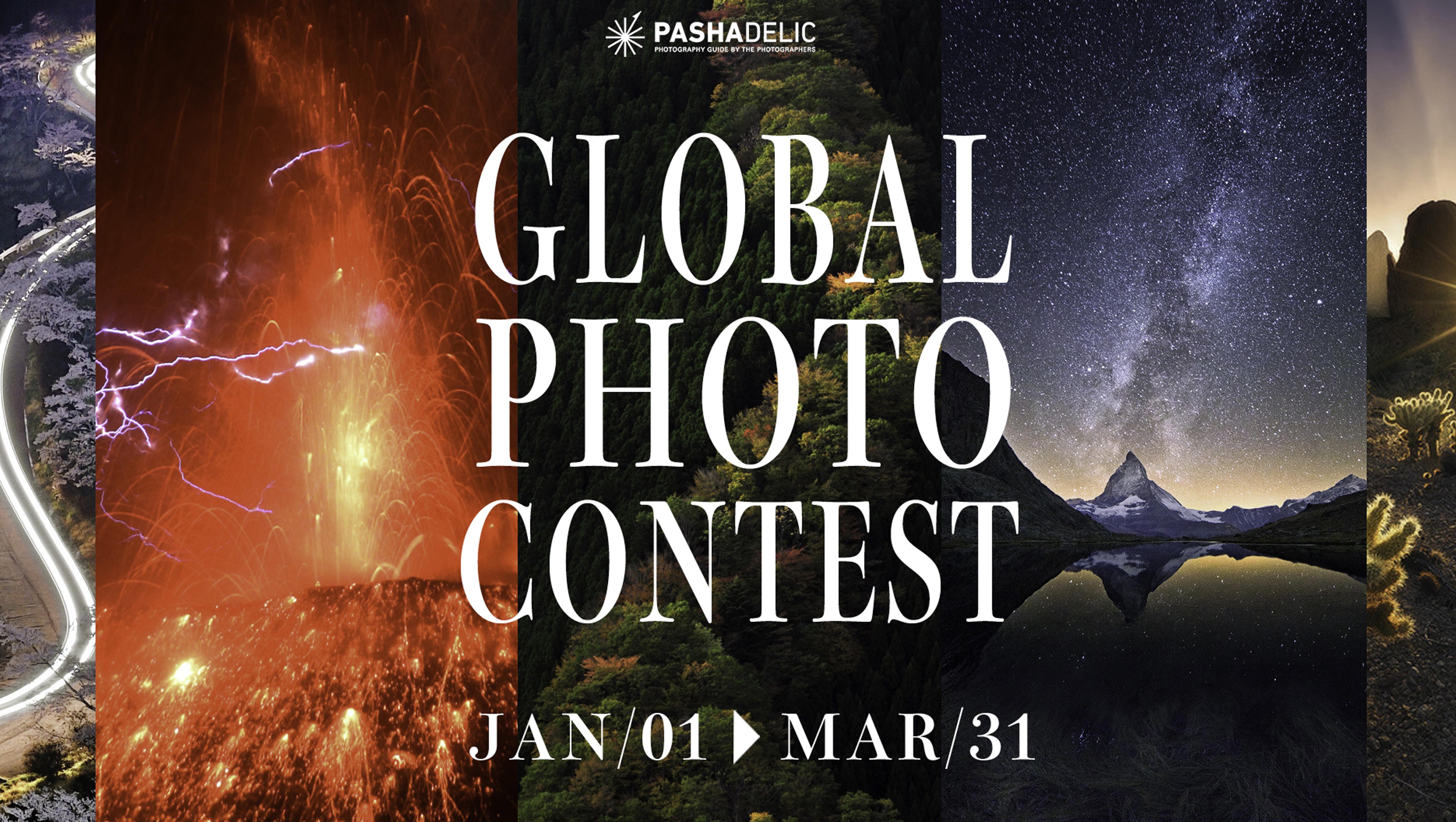 Pashadelic Global Photo Contest - logo