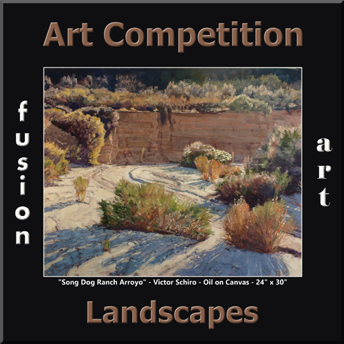 "3rd Annual ""Landscapes"" Art/Photo Competition - logo"