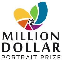 Million Dollar Portrait Prize - logo