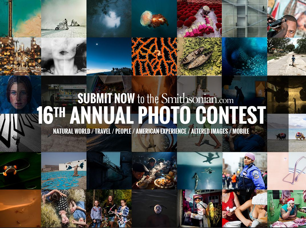 16th Annual Smithsonian.com Photo Contest - logo