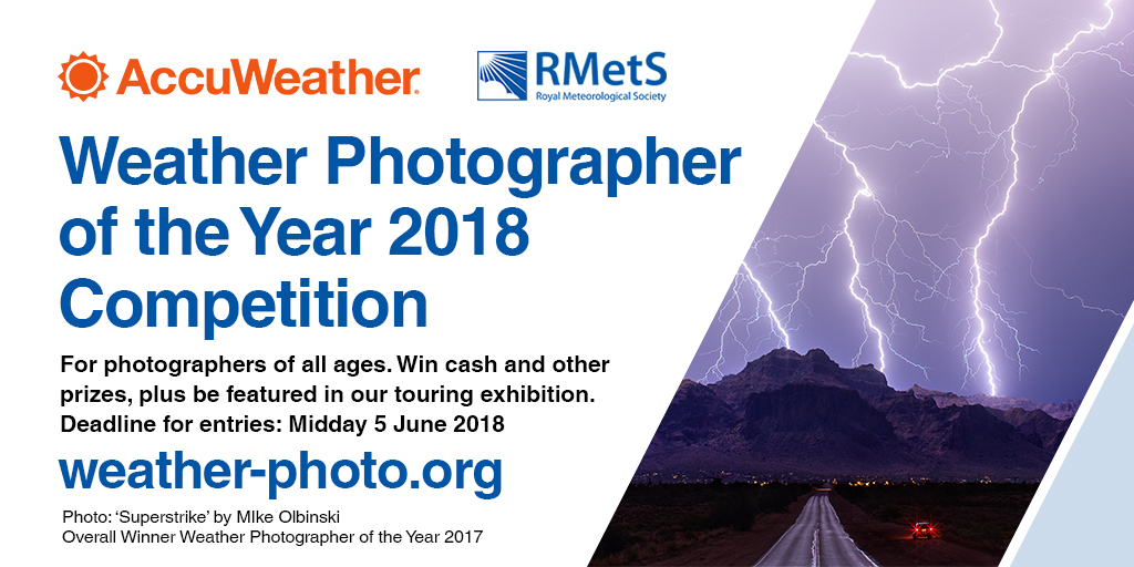 AccuWeather / RMetS Weather Photographer of the Year 2018 - logo