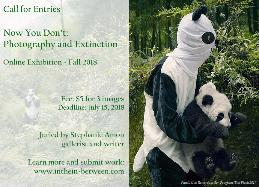Open Call: Photography and Extinction - logo