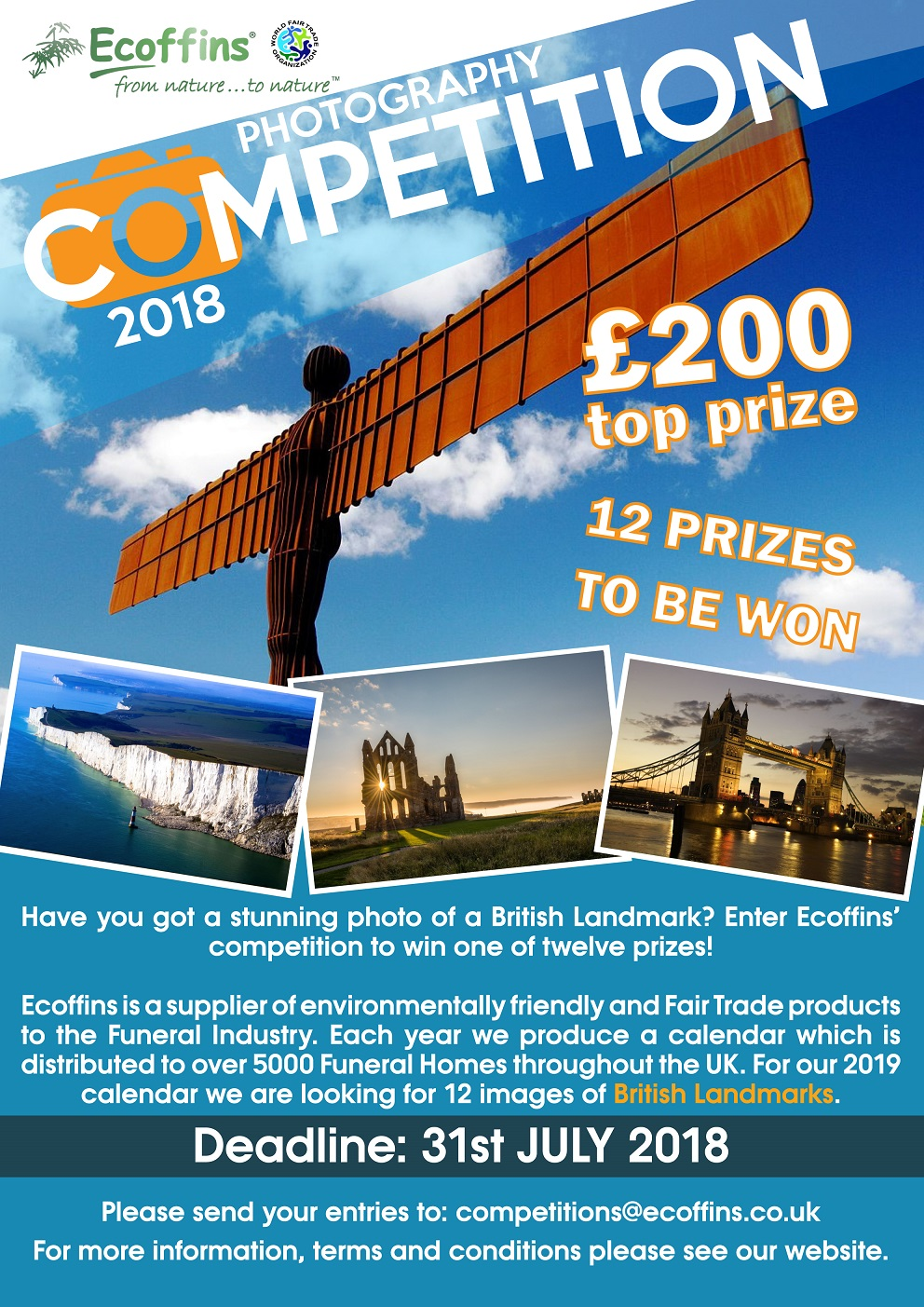 British Landmarks photo competition - logo