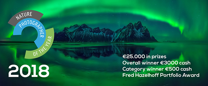 Nature Photographer of the Year 2018 - logo