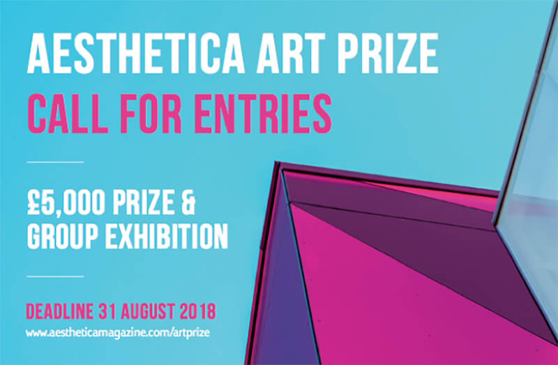 Aesthetica Art Prize 2018 - logo