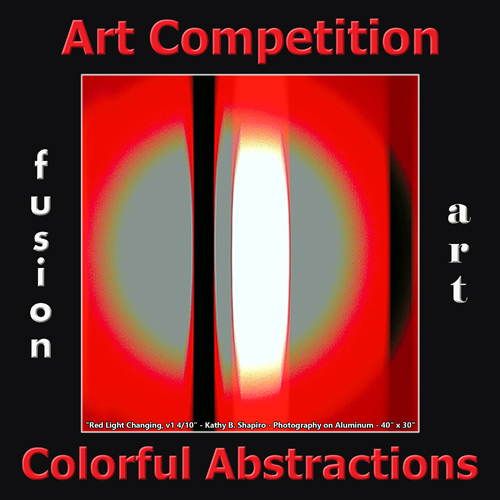 4th Annual Colorful Abstractions Art Competition - logo
