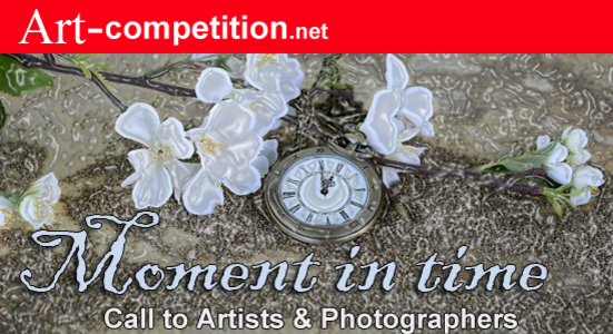 ART CALL TO ARTISTS AND PHOTOGRAPHERS – MOMENT IN TIME 2018 - logo