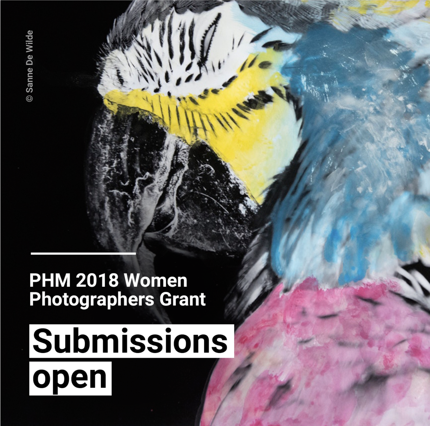 PHM 2018 Women Photographers Grant - logo