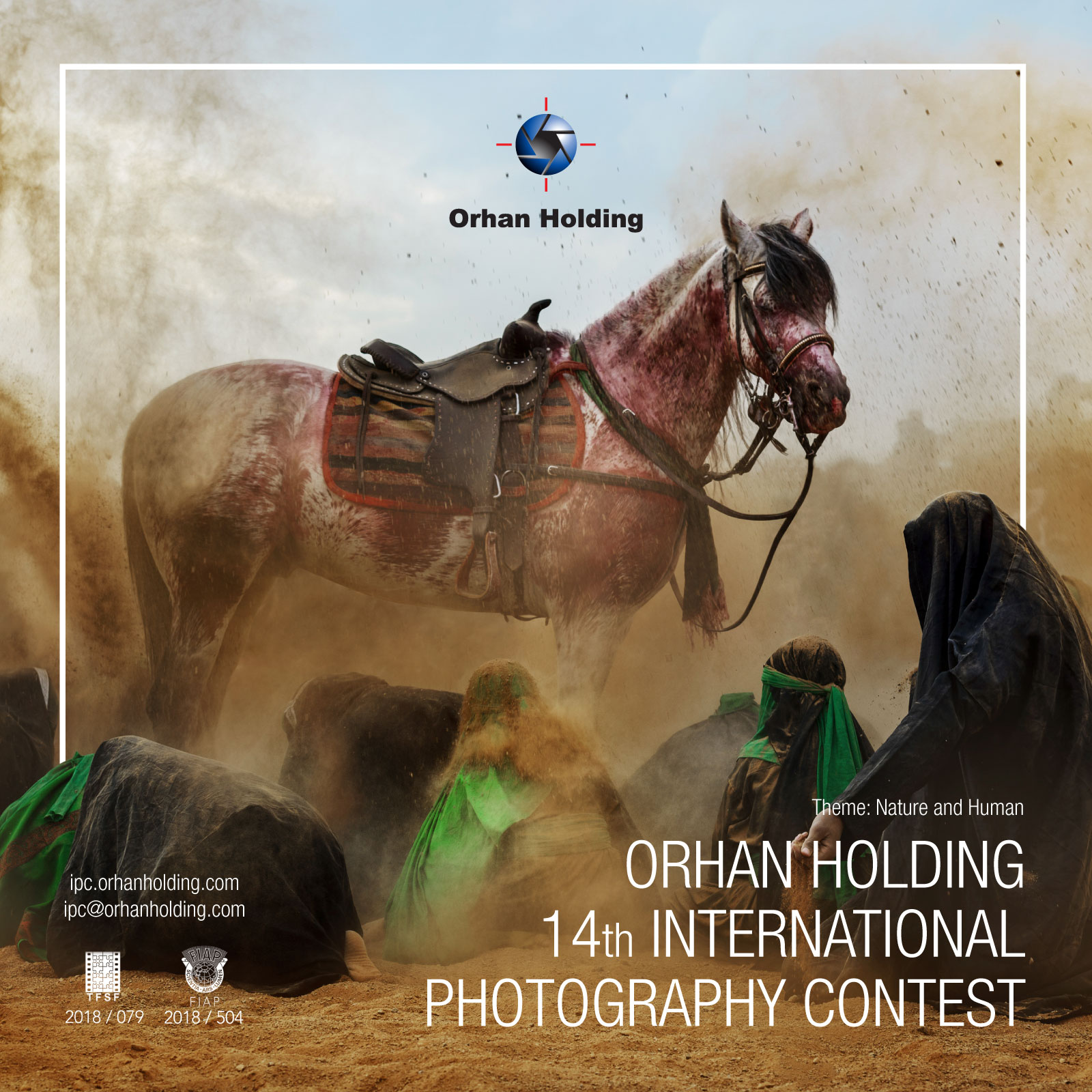 ORHAN HOLDING 14th INTERNATIONAL PHOTOGRAPHY CONTEST - logo