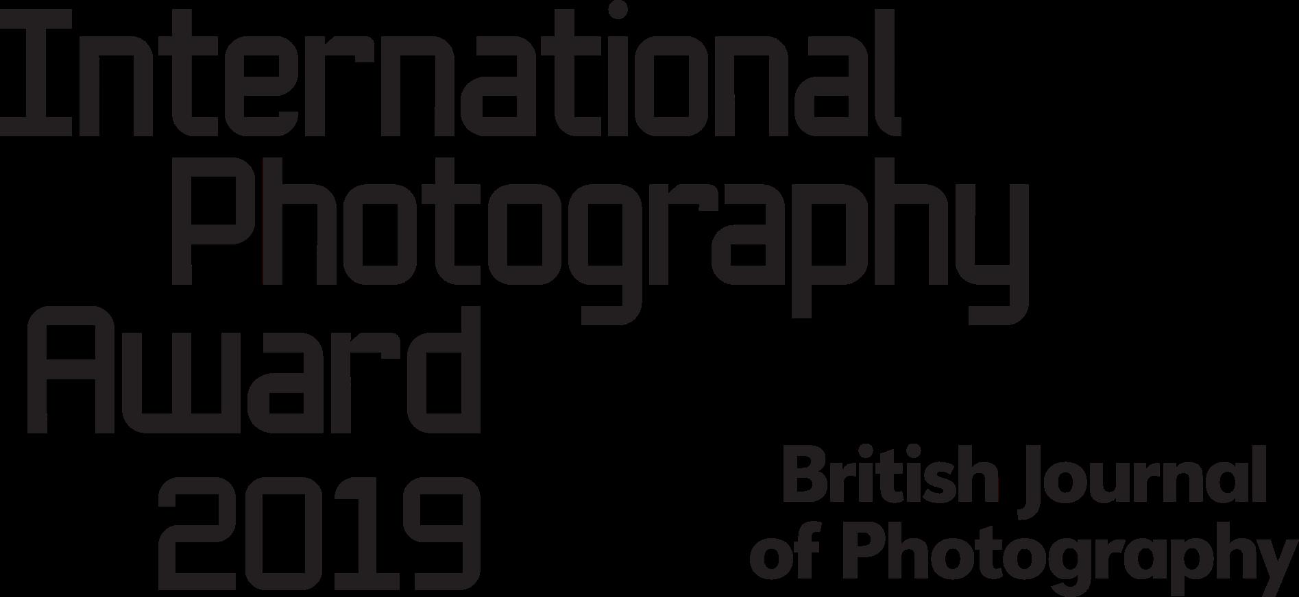 BJP International Photography Award 2019 - logo