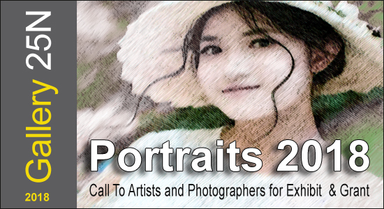 ART CALL TO ARTISTS AND PHOTOGRAPHERS – PORTRAITS 2018 - logo