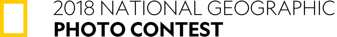 National Geographic Photo Contest 2018 - logo