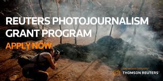 Reuters Photojournalism Grant 2018 - logo