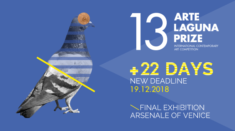 13. Arte Laguna Prize NEW DEADLINE TO APPLY > 19.12.2018 - logo