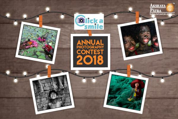 Click a Smile – Online Photography Contest 2018 - logo