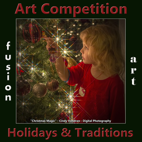 """""""Holidays & Traditions"""" International Art Competition - logo"""