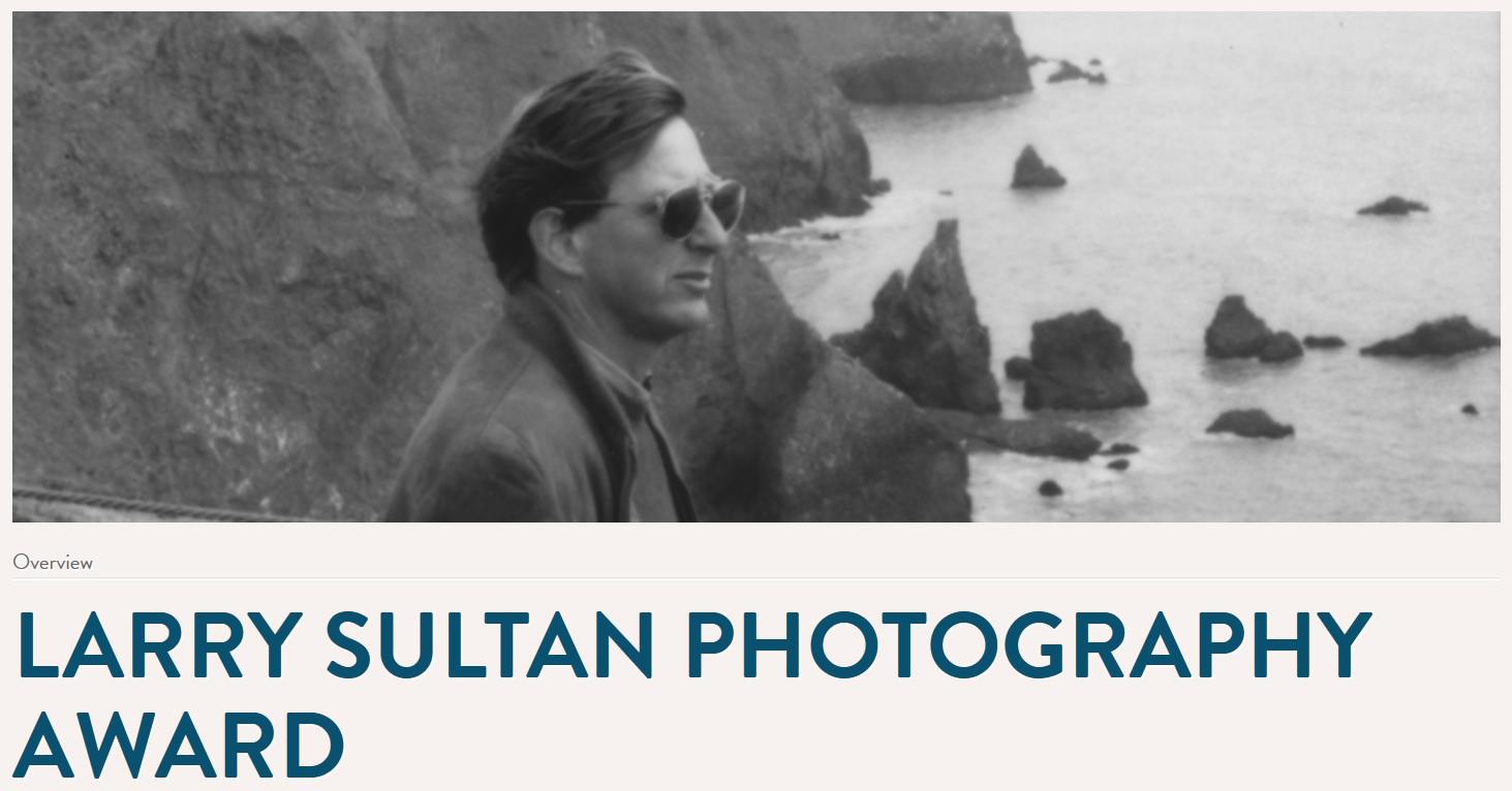 Larry Sultan Photography Award - logo