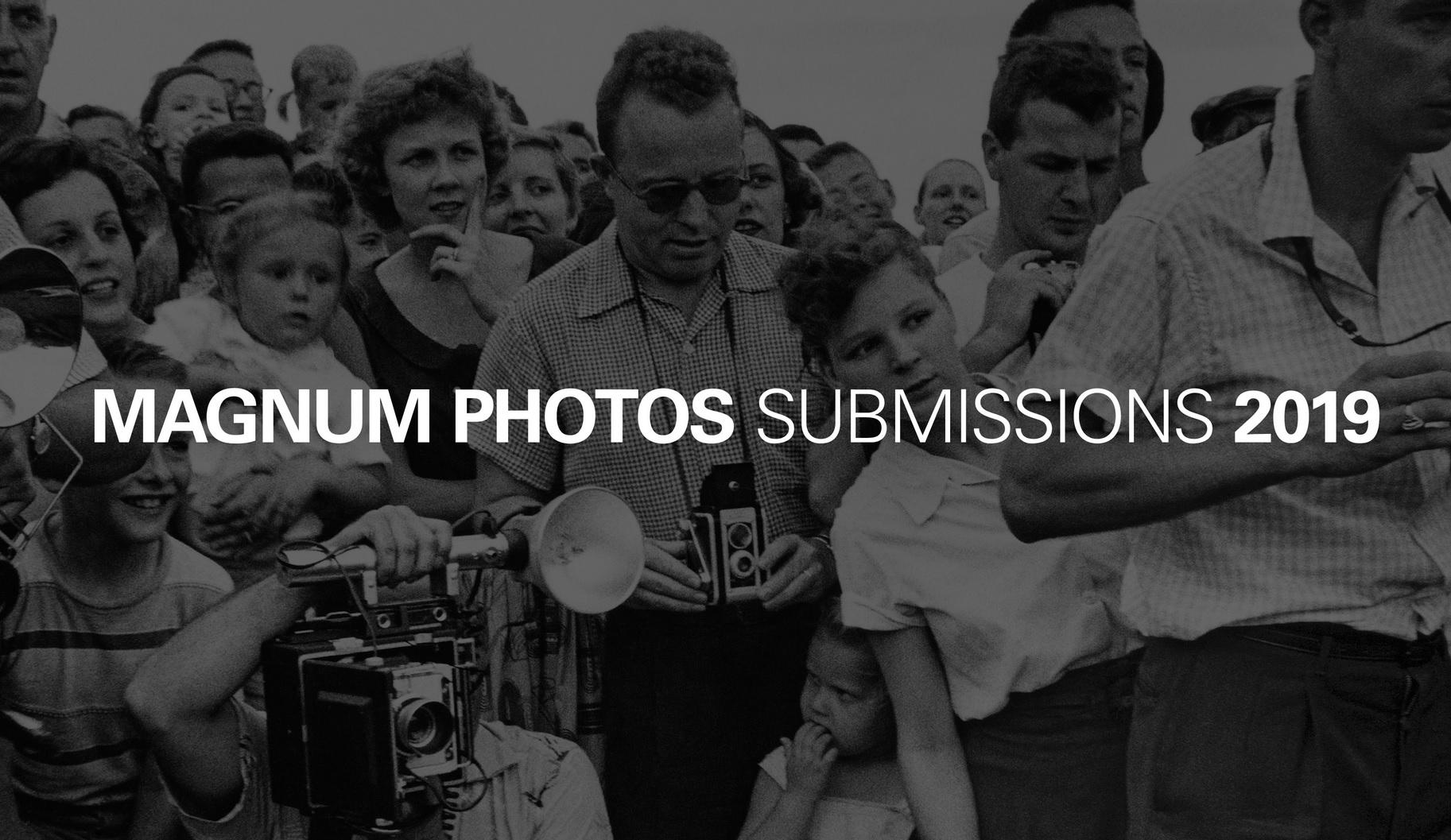 Magnum Photos Submissions 2019 - logo